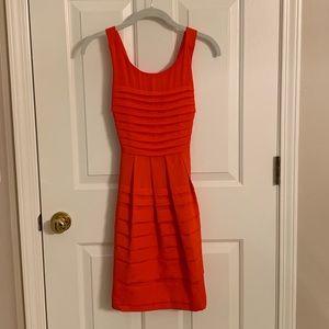 Anthropologie Eva Franco Dress in Orange, Size 2P